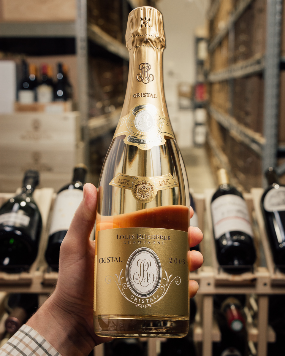 Louis Roederer Champagne Cristal Brut 2008  - First Bottle