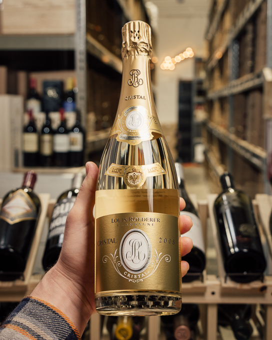 Louis Roederer Cristal Brut 2008  - First Bottle