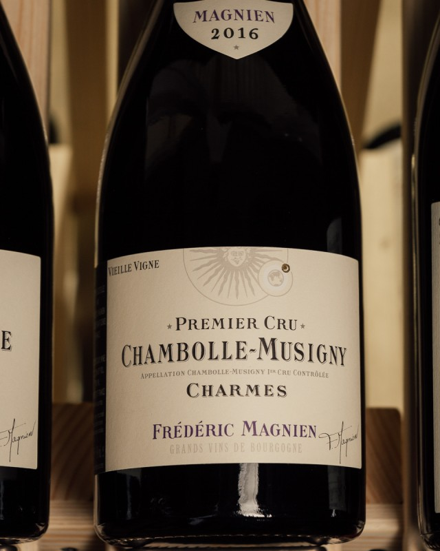 Maison Frederic Magnien Chambolle Musigny 1er Cru Charmes Vieilles Vignes 2016