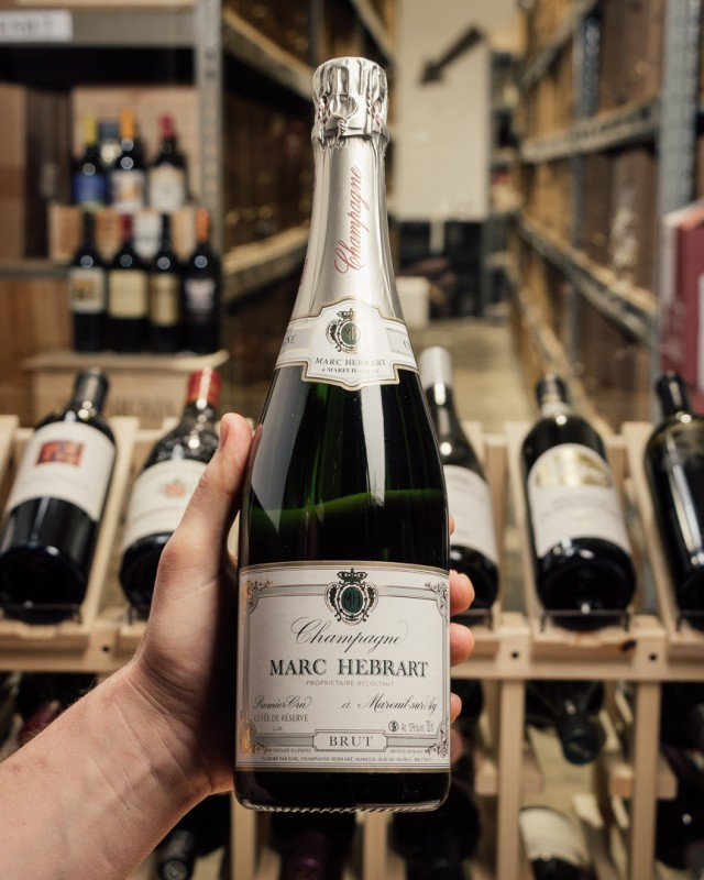 Marc Hebrart Brut Cuvee de Reservee Premier Cru NV  - First Bottle