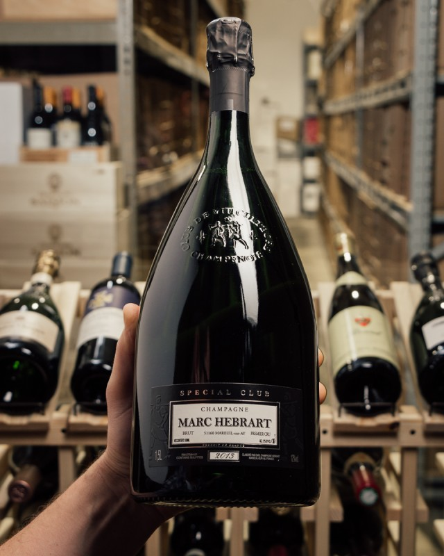 Marc Hebrart Special Club Brut 1er Cru 2013 (Magnum 1.5L)  - First Bottle