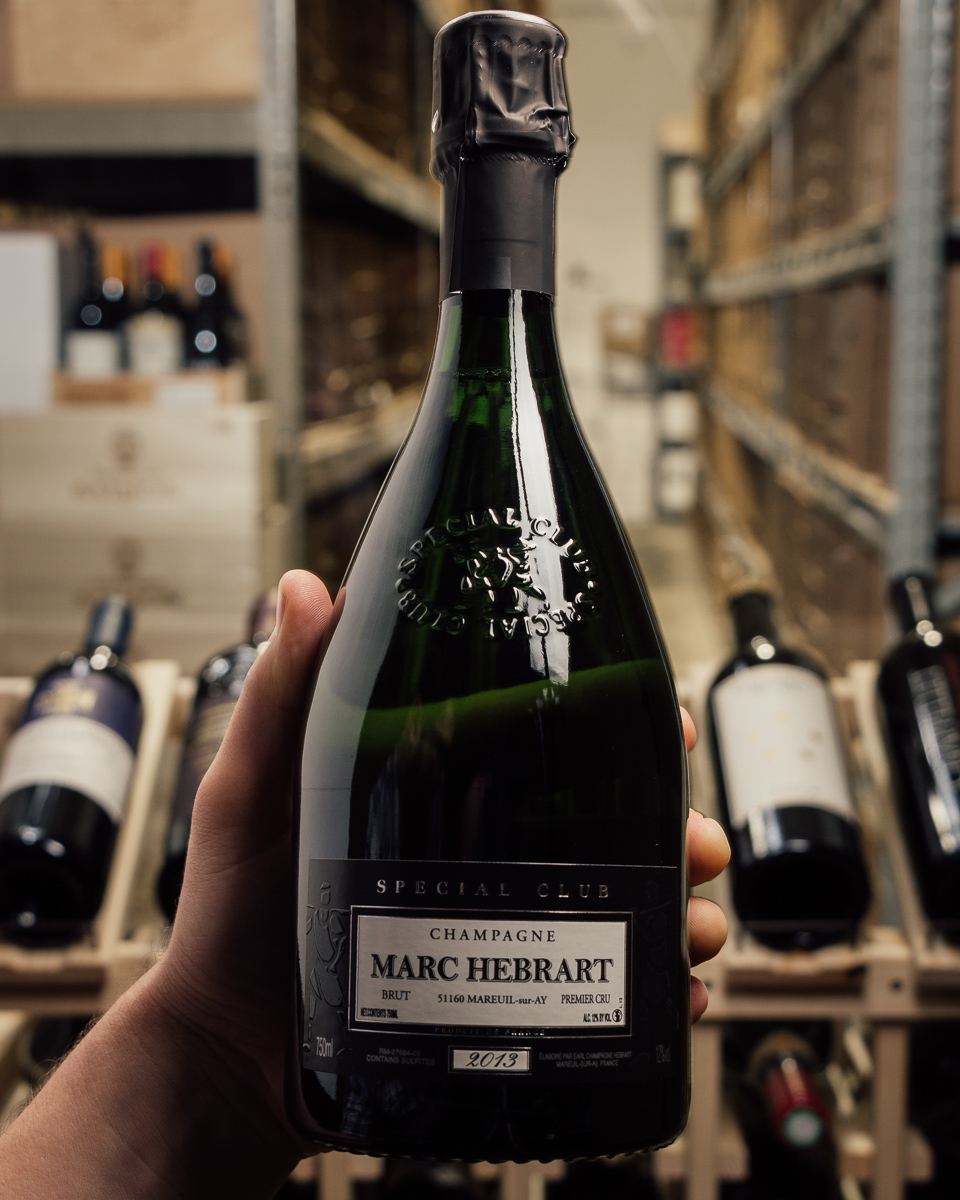 Marc Hebrart Special Club Brut 1er Cru 2013  - First Bottle