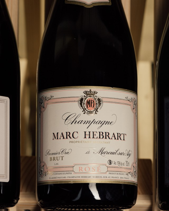 Marc Hebrart Brut Rose 1er Cru NV