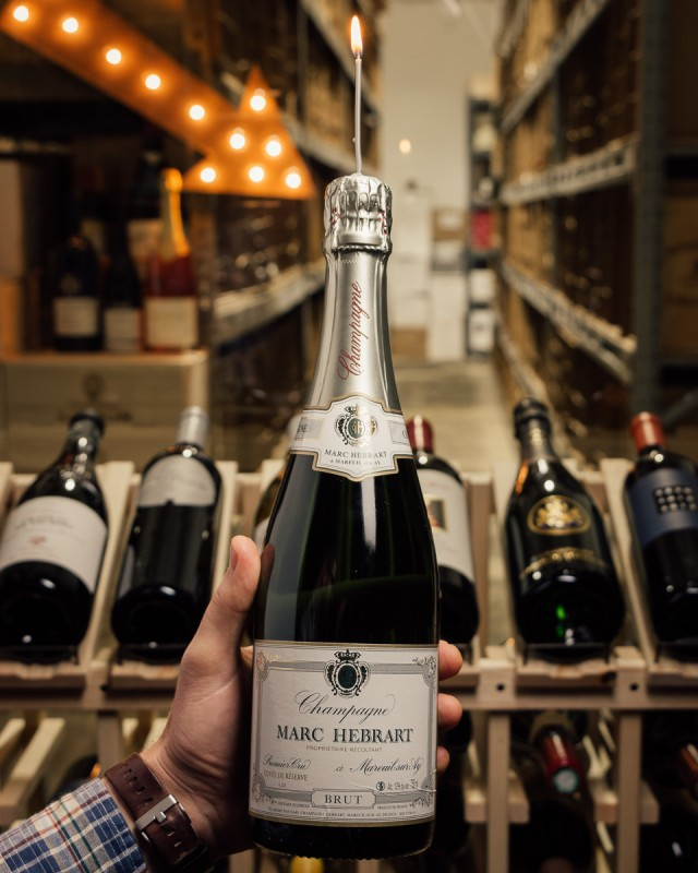 Marc Hebrart Cuvee de Reserve Brut 1er Cru NV  - First Bottle