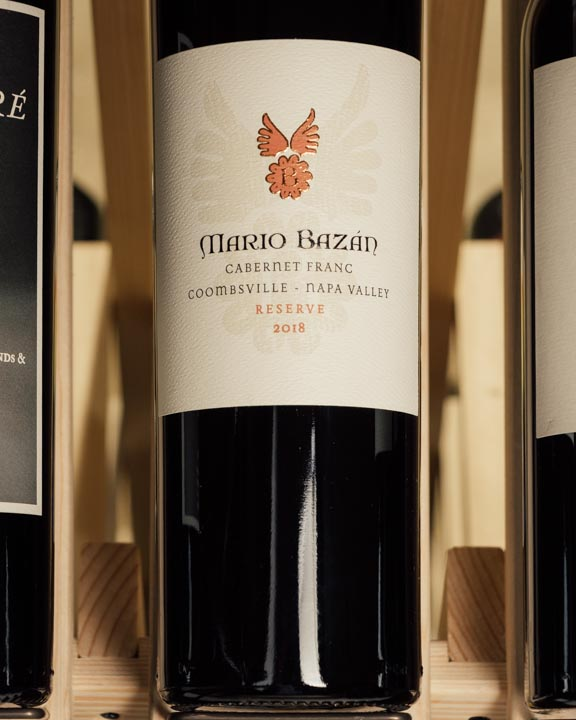 Mario Bazan Cabernet Franc Reserve Coombsville 2018