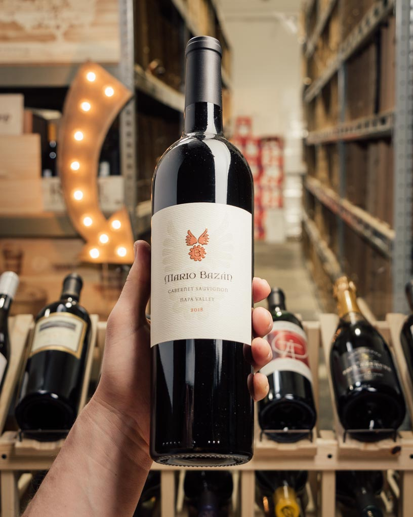 Mario Bazan Cabernet Sauvignon Napa Valley 2018  - First Bottle
