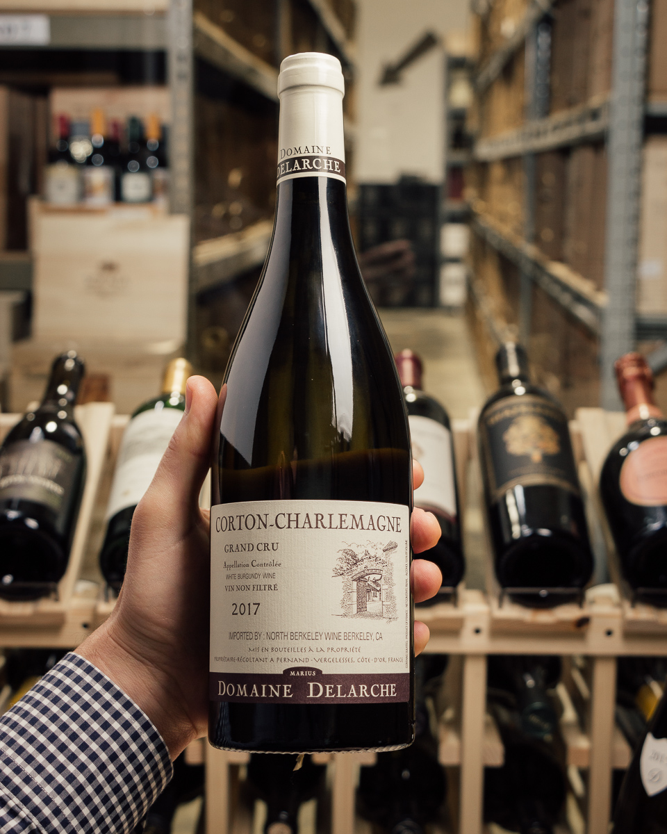 Marius Delarche Corton Charlemagne Grand Cru 2017  - First Bottle