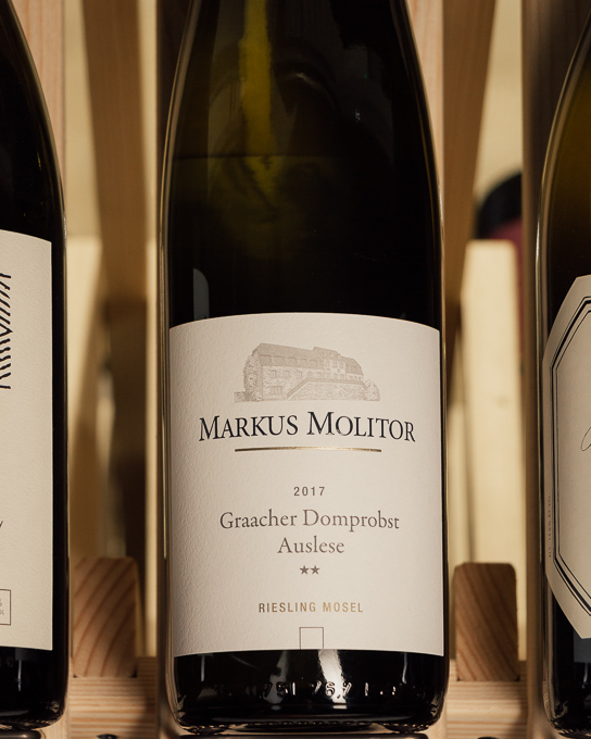 Markus Molitor Graacher Domprobst Riesling Auslese ** White Capsule 2017