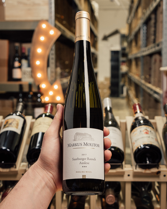 Markus Molitor Saarburger Rausch Riesling Auslese *** Gold Capsule 2017  - First Bottle