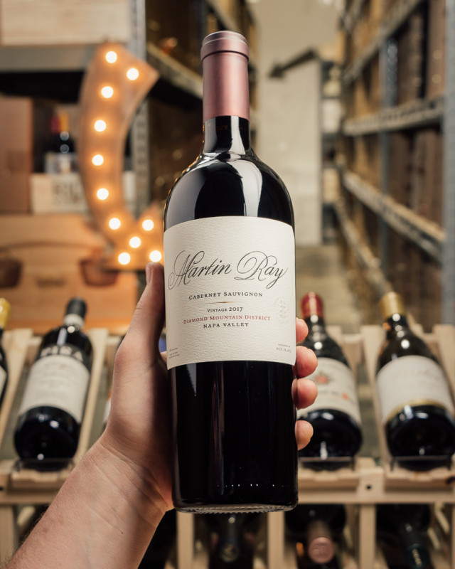 Martin Ray Cabernet Sauvignon Diamond Mountain 2017  - First Bottle