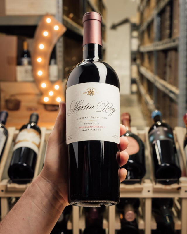 Martin Ray Cabernet Sauvignon Stags Leap 2015  - First Bottle