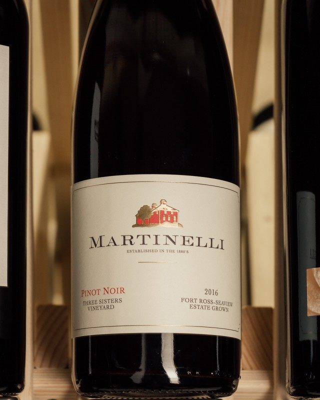 Martinelli Pinot Noir Three Sisters Fort Ross Seaview 2016