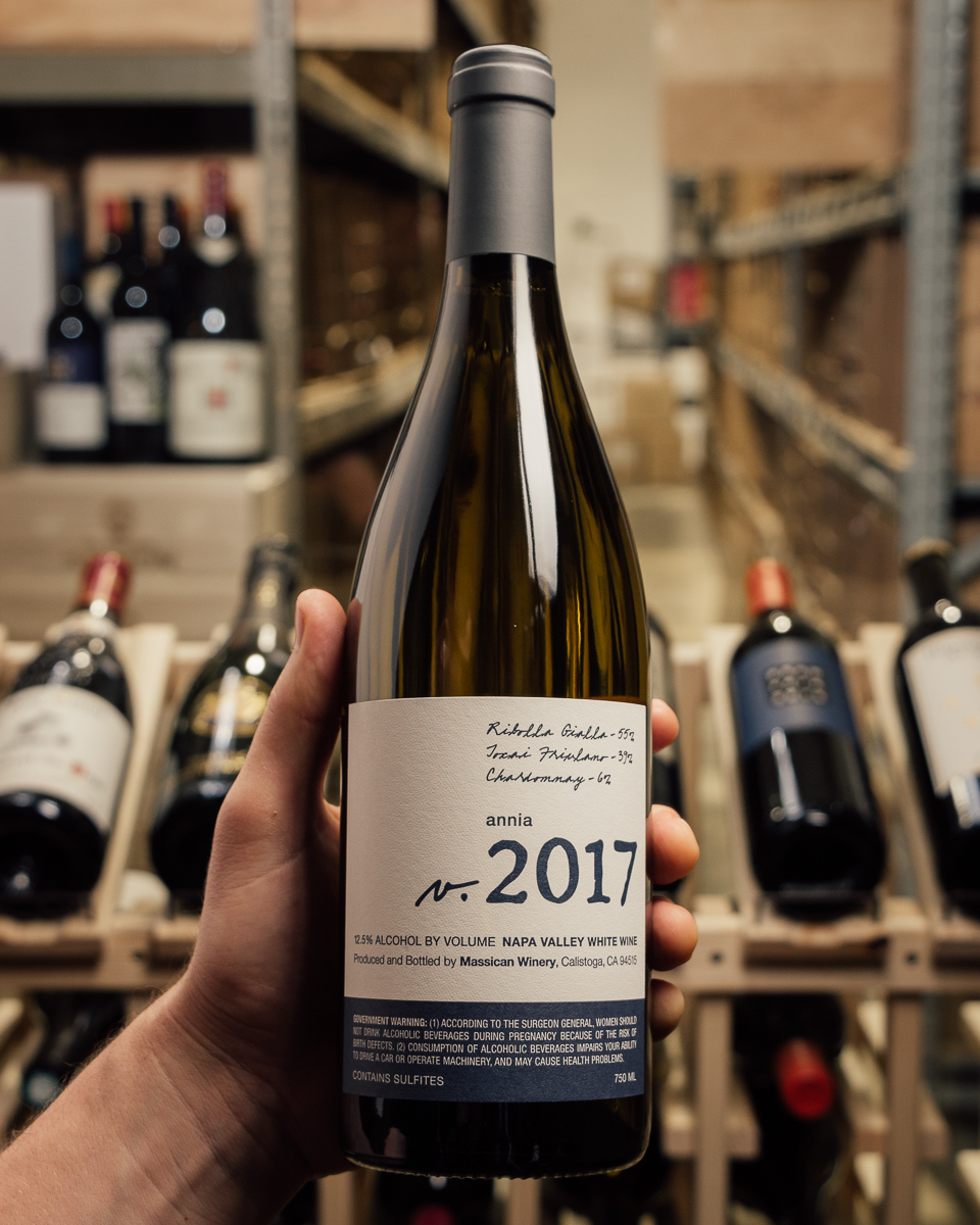 Massican Proprietary White Annia 2017  - First Bottle
