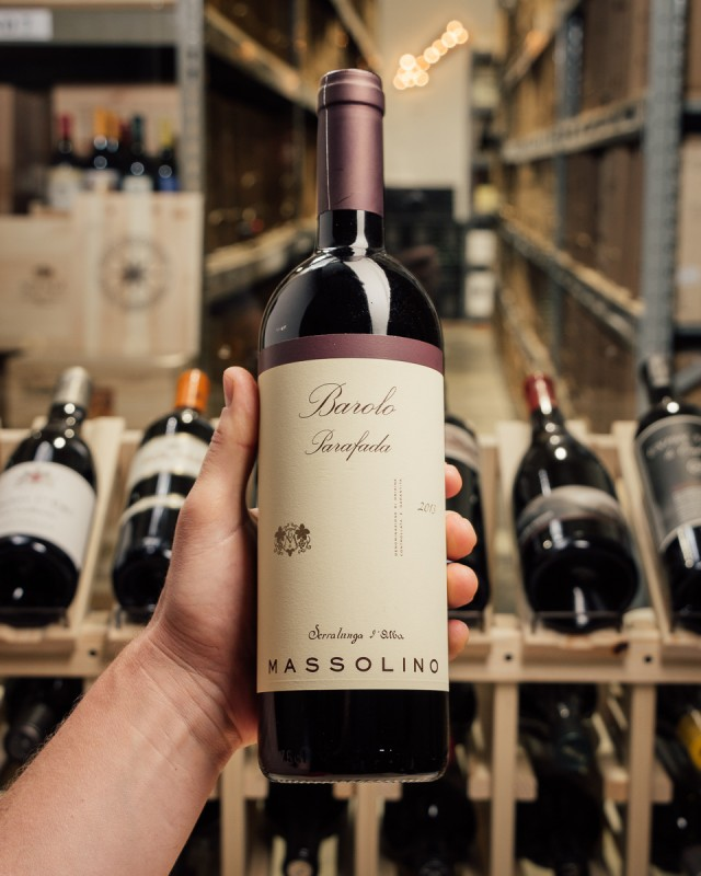 Massolino Barolo Parafada 2013  - First Bottle