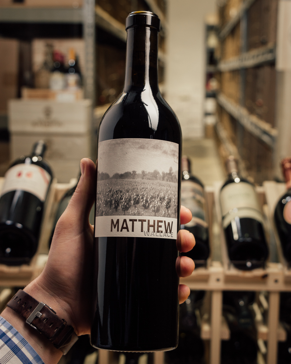 Matthew Wallace Cabernet Sauvignon Napa 2016  - First Bottle