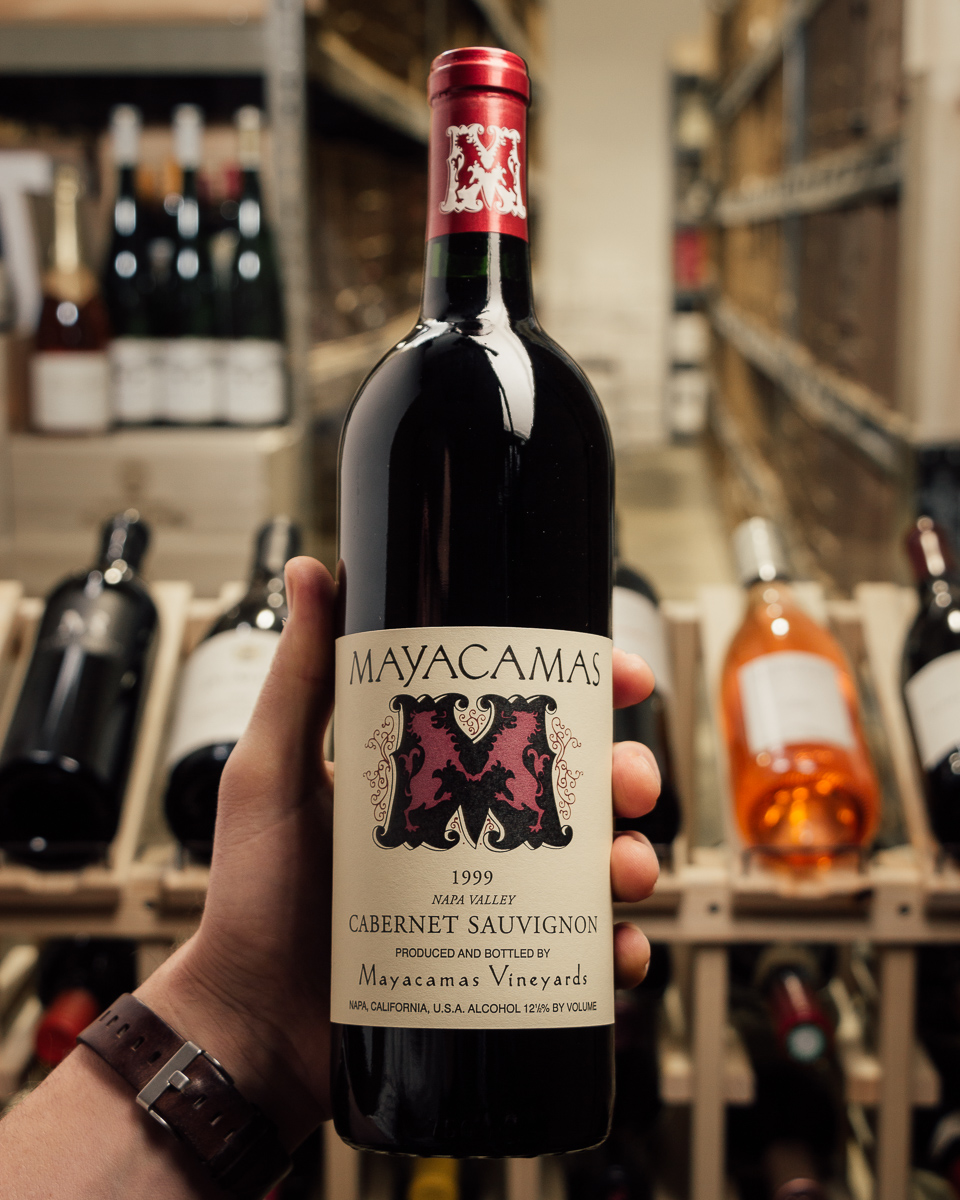 Mayacamas Cabernet Sauvignon 1999  - First Bottle