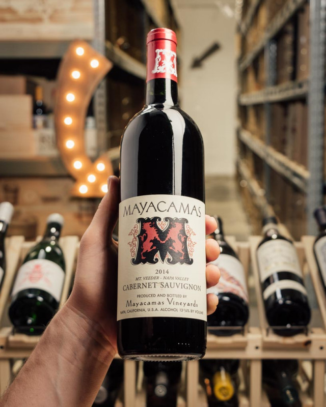 Mayacamas Cabernet Sauvignon Mount Veeder 2014  - First Bottle