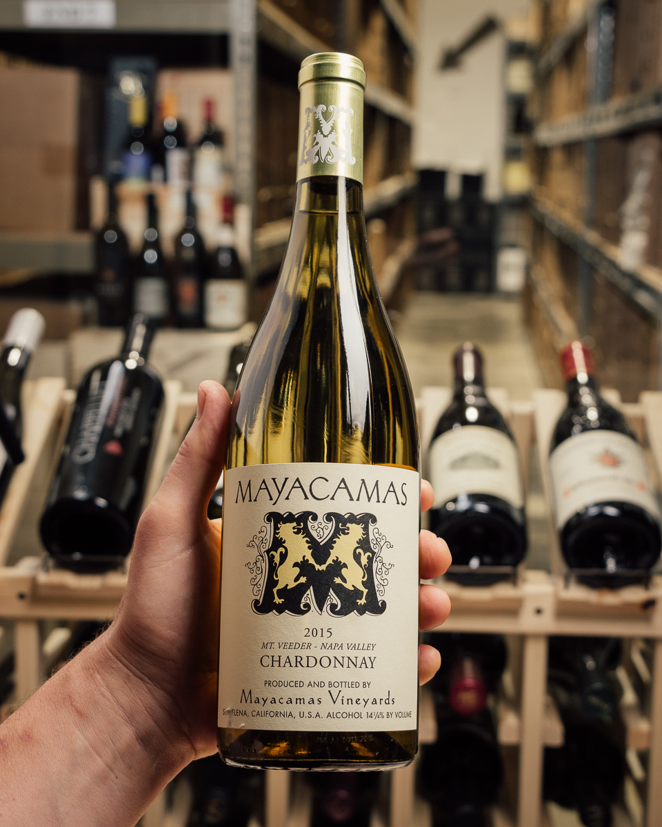 Mayacamas Chardonnay 2015  - First Bottle