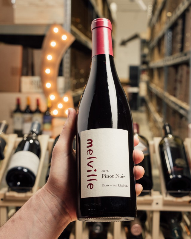 Melville Estate Pinot Noir Santa Rita Hills 2016  - First Bottle