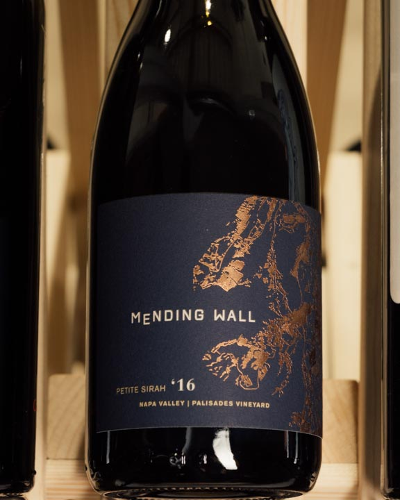 Mending Wall Petite Sirah Palisades Vineyard 2016