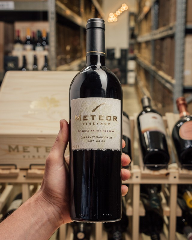 Meteor Cabernet Sauvignon Special Family Reserve 2013  - First Bottle