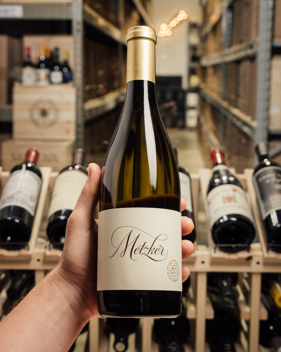 Metzker Chardonnay Ritchie Vineyard 2016  - First Bottle