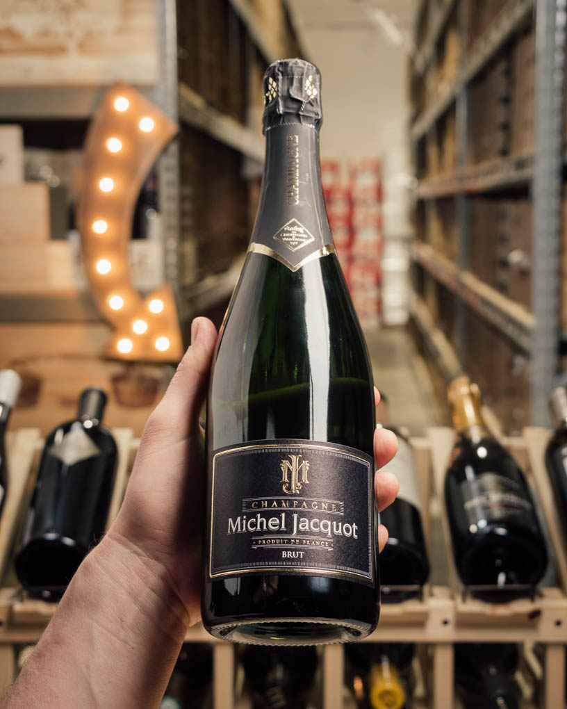 Michel Jacqout Champagne Brut Reserve NV  - First Bottle