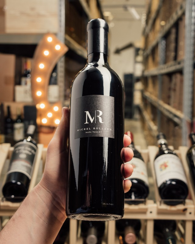 Michel Rolland Cabernet Sauvignon MR 2016  - First Bottle
