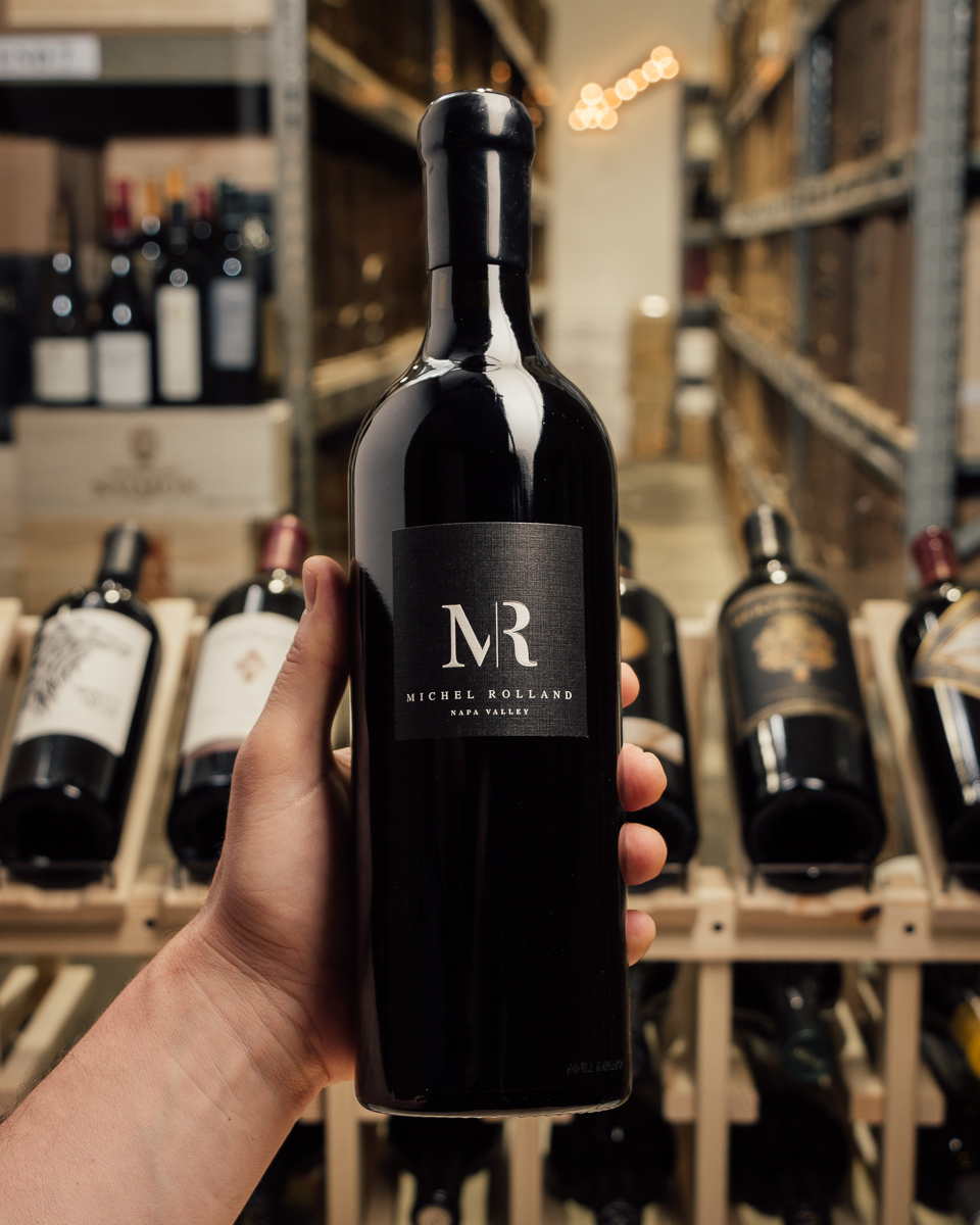 Michel Rolland Cabernet Sauvignon MR Napa Valley 2015  - First Bottle