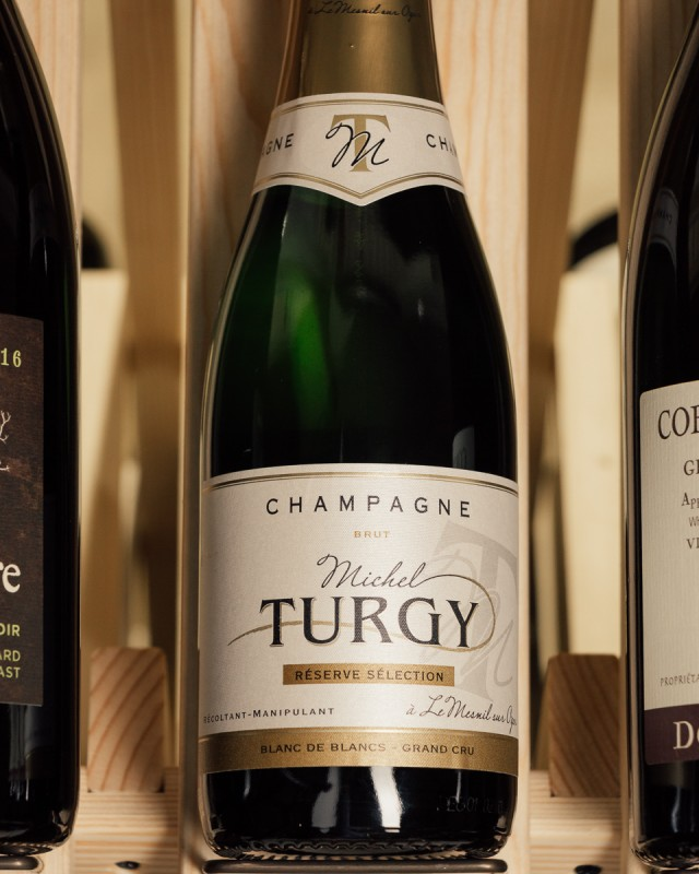 Michel Turgy Blanc de Blancs Grand Cru Brut Reserve Selection NV (375ml)