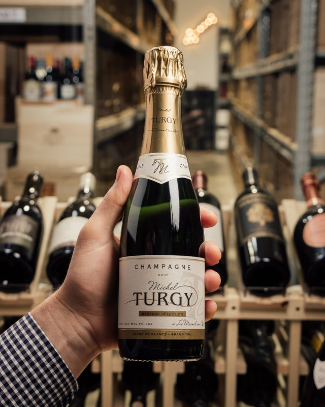 Michel Turgy Blanc de Blancs Grand Cru Brut Reserve Selection NV (375ml)  - First Bottle