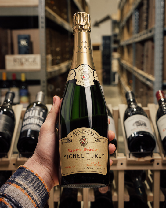 Michel Turgy Blanc de Blancs Grand Cru Reserve Selection NV  - First Bottle