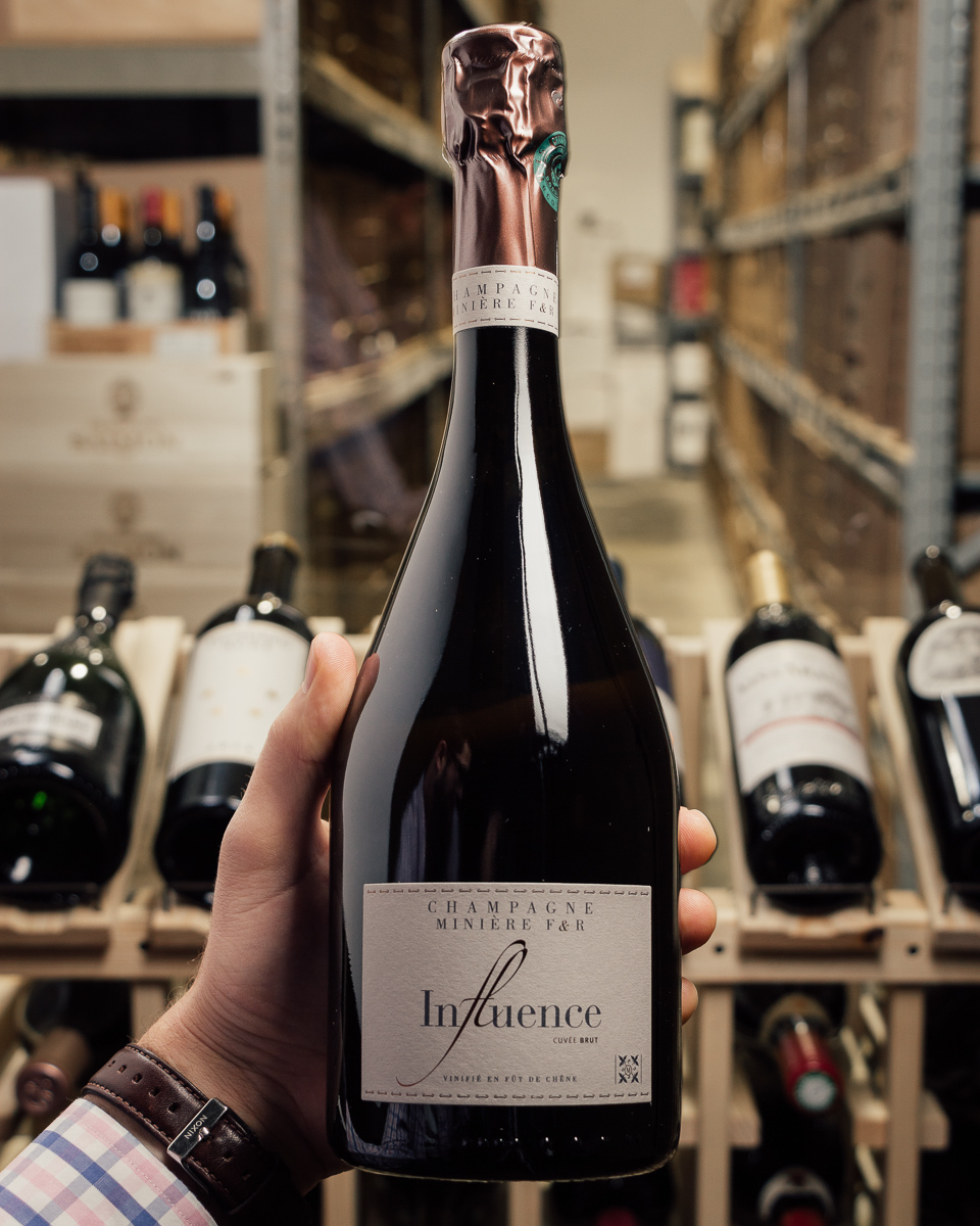 Miniere Brut Influence NV  - First Bottle