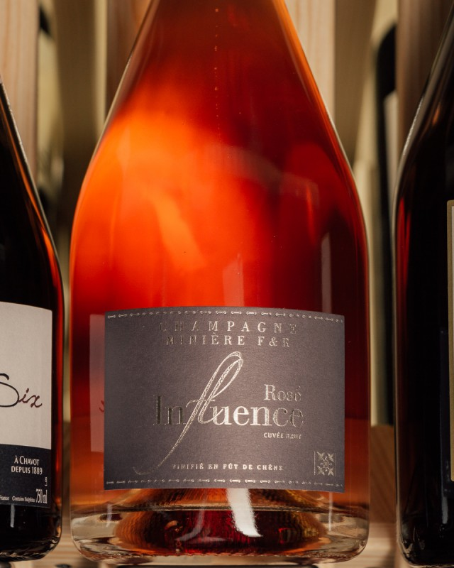 Miniere Brut Rose Influence NV