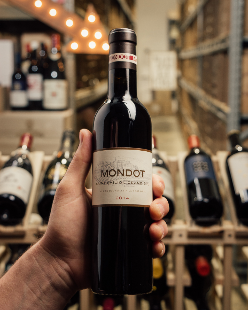 Mondot Saint Emilion 2014 (Half Bottle)  - First Bottle