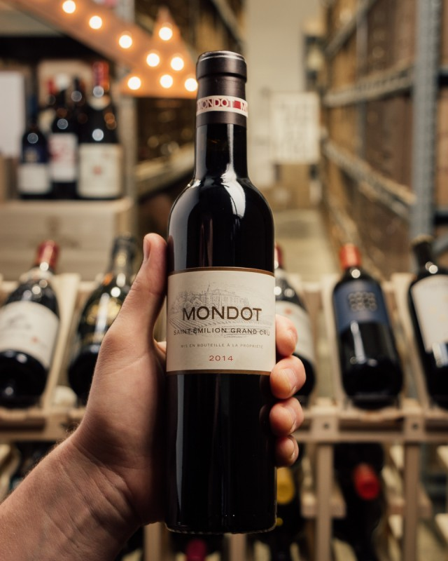 Mondot Saint Emilion 2014 (375mL)  - First Bottle