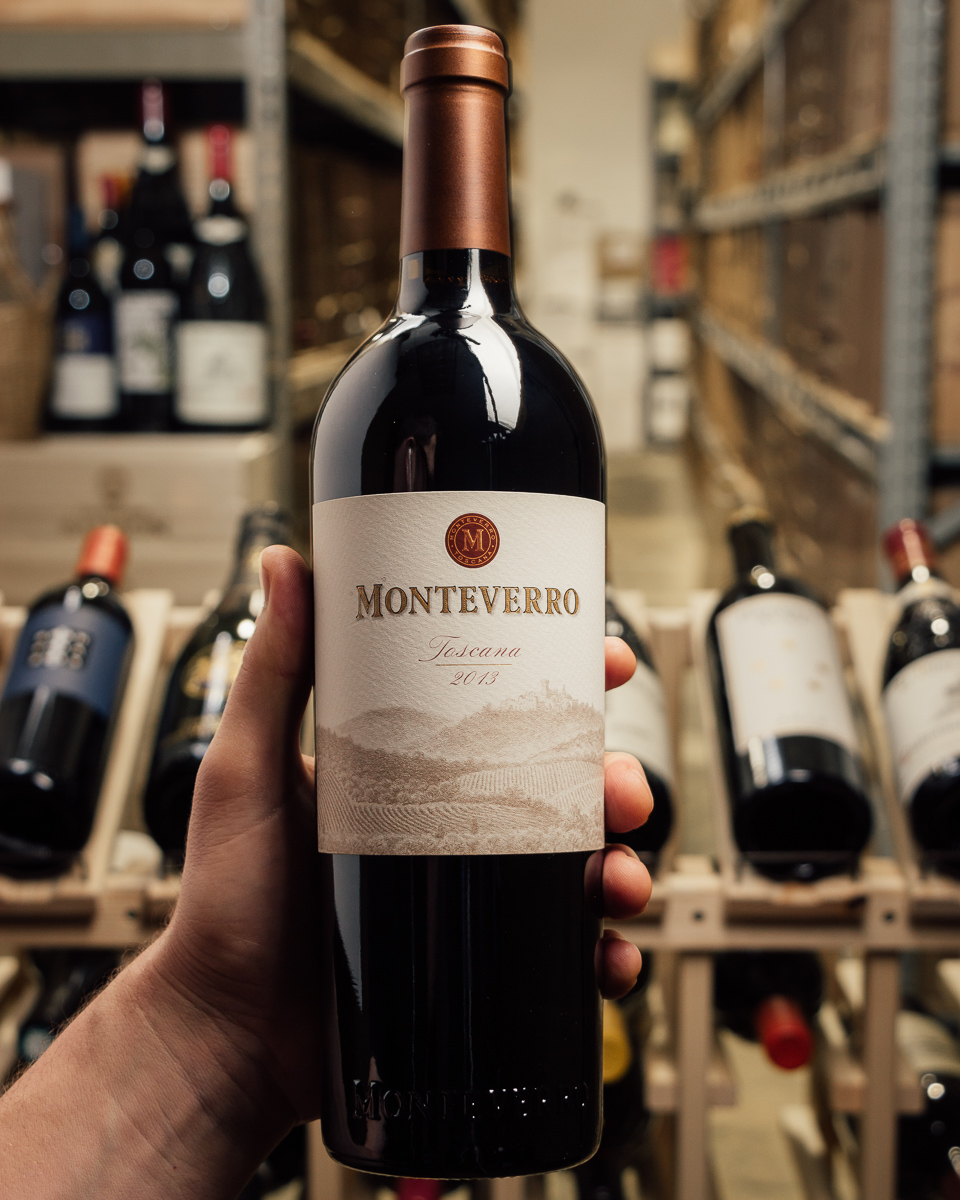 Monteverro Tuscany 2013  - First Bottle