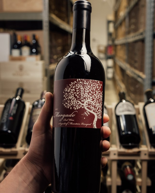 Morgado Cellars Proprietary Red Sugarloaf Mountain 2015  - First Bottle