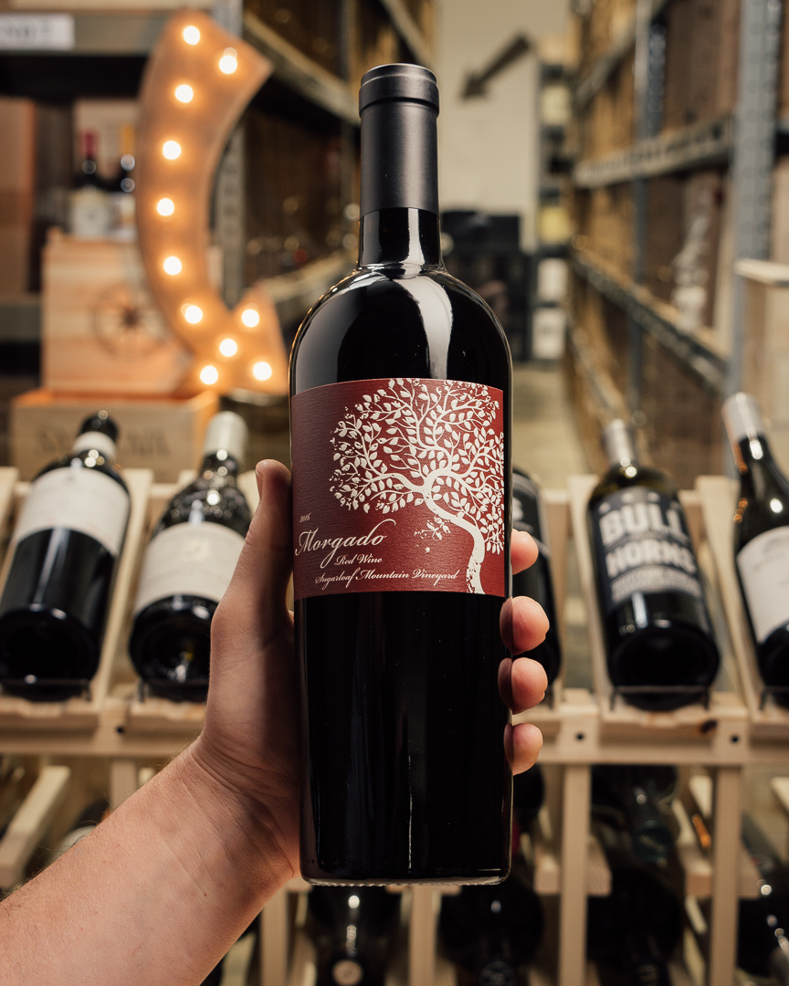 Morgado Proprietary Red Sugarloaf Mountain 2016  - First Bottle