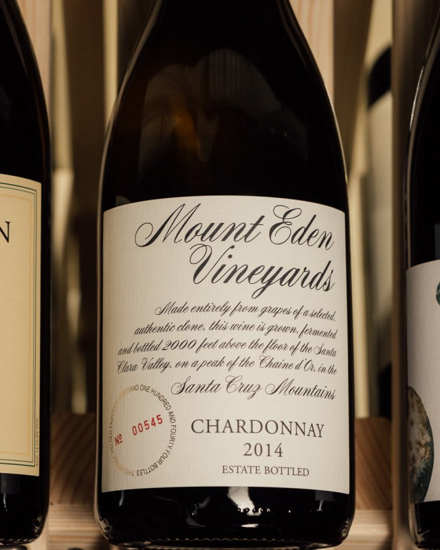 Mount Eden Vineyards Chardonnay Santa Cruz Mountains 2014