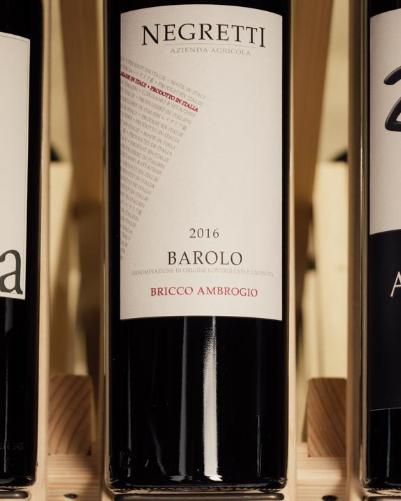 Negretti Barolo Bricco Ambrogio 2016  - First Bottle