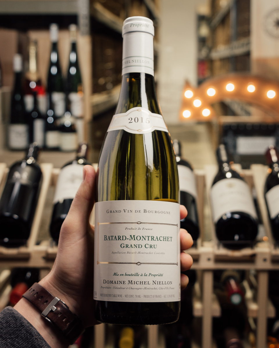 Niellon Batard Montrachet 2015  - First Bottle
