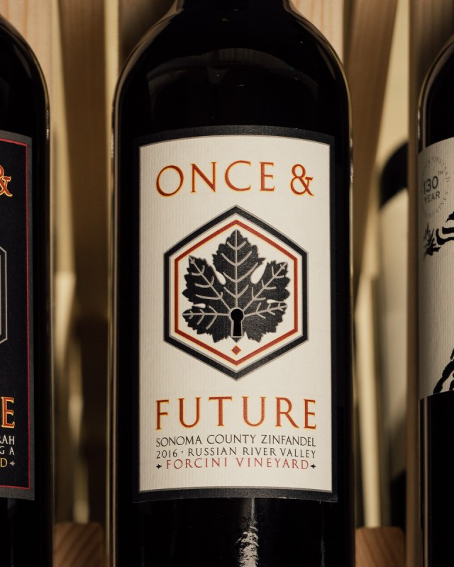 Once & Future Wine Zinfandel Forcini Vineyard 2016