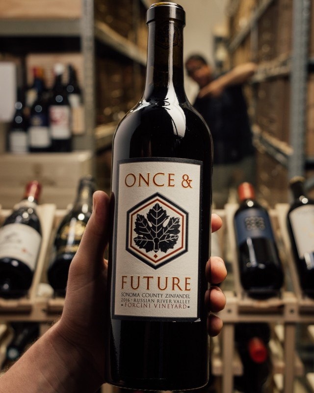 Once and Future Wine Zinfandel Forcini Vineyard 2016  - First Bottle