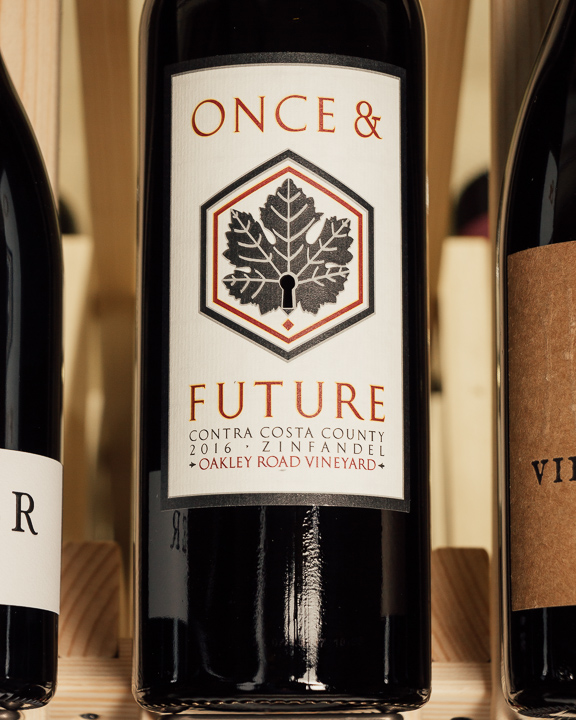 Once and Future Zinfandel Oakley Vineyard Contra Costa 2016