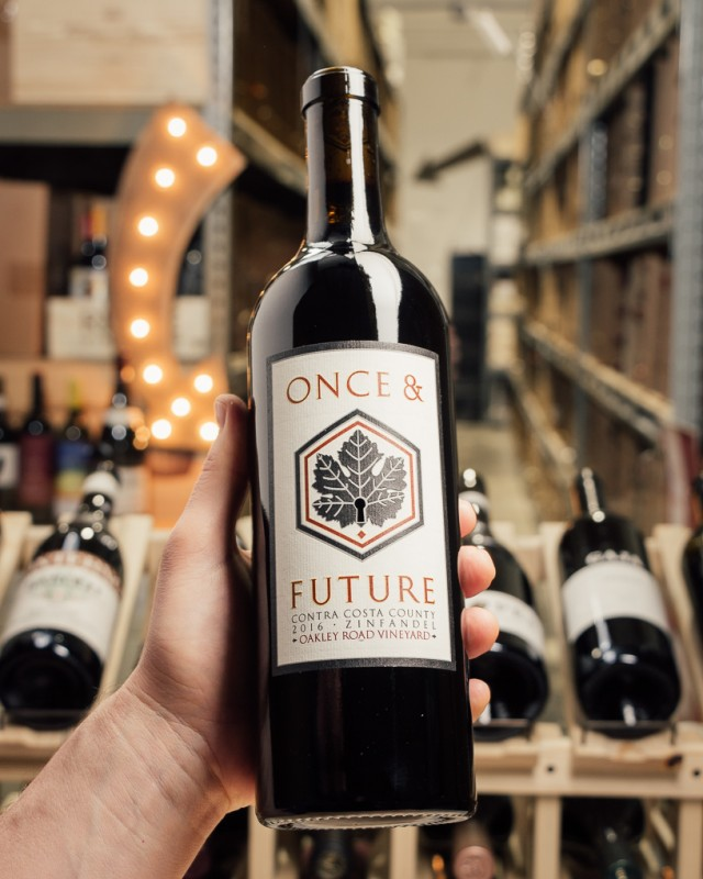 Once and Future Zinfandel Oakley Road Vineyard Contra Costa 2016  - First Bottle