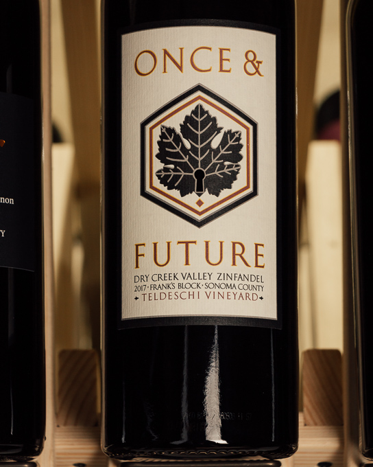 Once and Future Zinfandel Teldeschi Frank's Block Dry Creek 2017