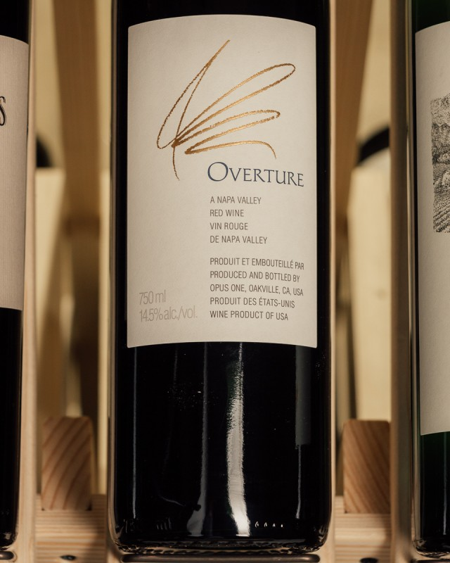 Opus One Overture NV  - First Bottle