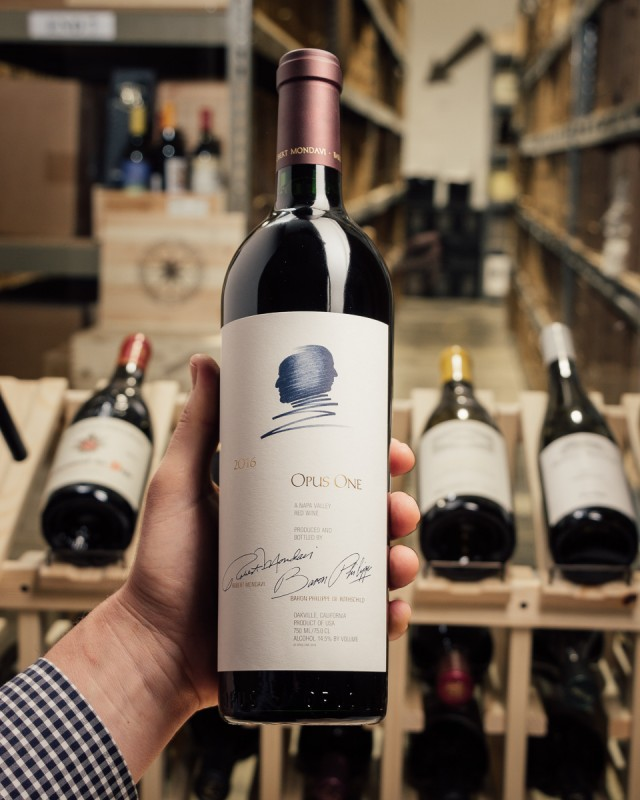Opus One Proprietary Red Napa Valley 2016  - First Bottle