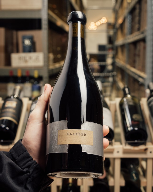 Orin Swift Pinot Noir Slander 2015  - First Bottle